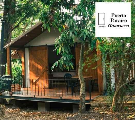 Caba as cumbres tapalpa for Cabanas de jardin